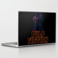 pulp Laptop & iPad Skins featuring Pulp Fiction by Studio 401