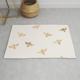 Busy Bees (Sand) Rug