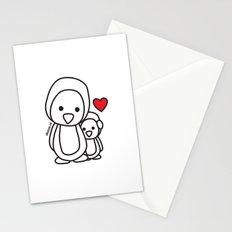 Penguin Sweetness Stationery Cards