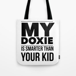 Dacshund Dog Design Funny Tee for Mom Dad Men or Women Tote Bag