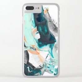 Color dc Clear iPhone Case