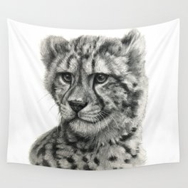 Young Guepard g094 Wall Tapestry