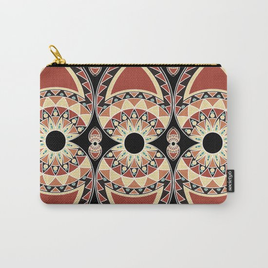 Ethnic petals. Pattern. Carry-All Pouch
