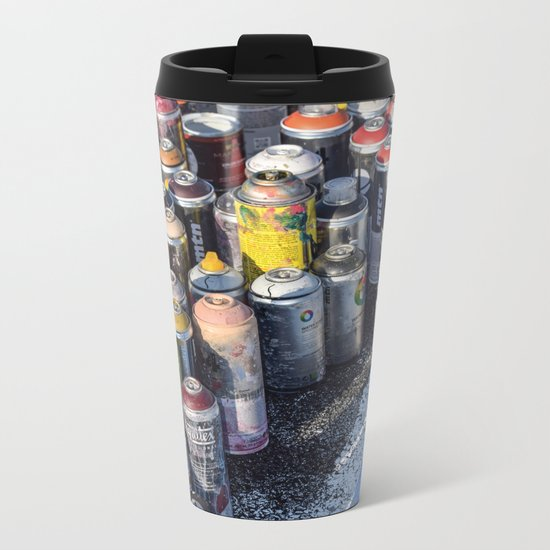 An Artist's Tools Metal Travel Mug