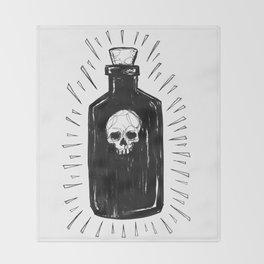 The Devil's Drink Throw Blanket