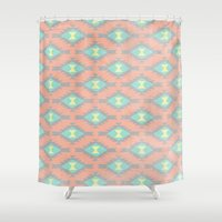 dallas Shower Curtains featuring Dallas by EverMore