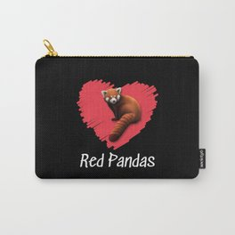 Red Panda Love Carry-All Pouch