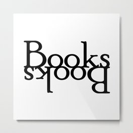 Books // Books Metal Print