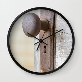 Don't Come Knocking Wall Clock