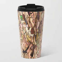 uncanny fuck-off Travel Mug