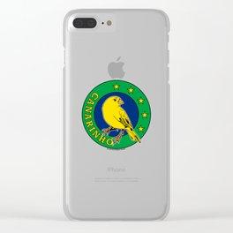 Brasil Canarinho (Little Canary) ~Group E~ Clear iPhone Case
