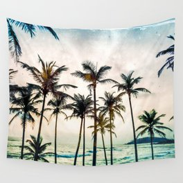 No Palm Trees Wall Tapestry
