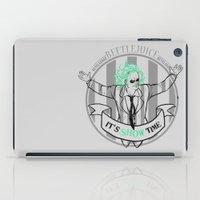 tim burton iPad Cases featuring Beetle Juice [Betelgeuse, Michael Keaton, Tim Burton] by Vyles