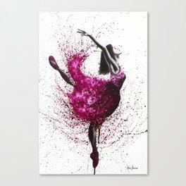 Ballet Wines Canvas Print