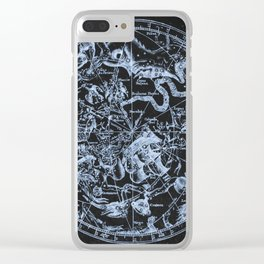 Zodiac Skies & Astrological Ties Clear iPhone Case