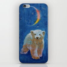 Polar Bear Cub iPhone & iPod Skin