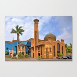 Al Tujjar Mosque Canvas Print