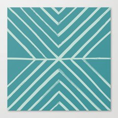 Intersect - in Pool Canvas Print