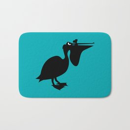 Angry Animals: Pelican Bath Mat