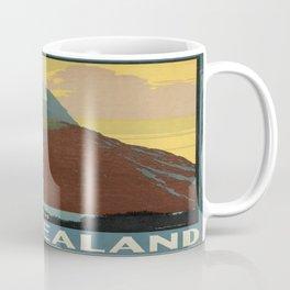 Vintage poster - New Zealand Coffee Mug