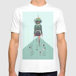 A last-day walk T-shirt