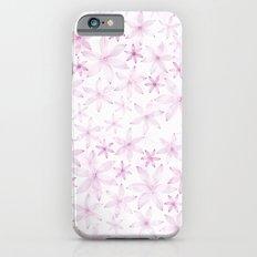 Flower in light pink pattern iPhone 6s Slim Case