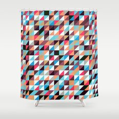 Quilted Patchwork Shower Curtain