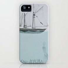 went on a ship of paper Slim Case iPhone (5, 5s)