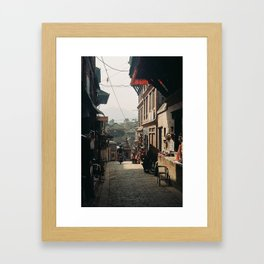 Morning Ride  Framed Art Print