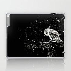 Snowfall at Night (Owl) Laptop & iPad Skin