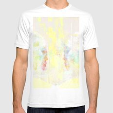 love at first sight White Mens Fitted Tee MEDIUM