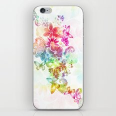 paisley flutter iPhone & iPod Skin
