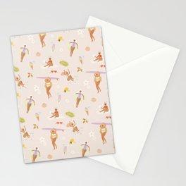 Summer Girls Stationery Cards