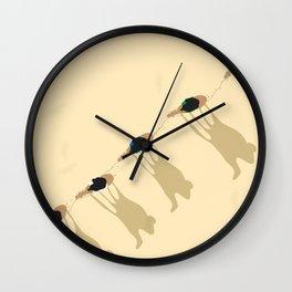 Camel caravan Wall Clock