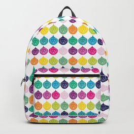 Happy Cats Pattern Backpack