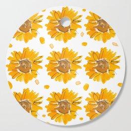 Sunny Sunflowers Cutting Board