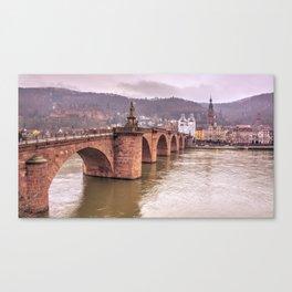 Heidelberg Bridge Canvas Print