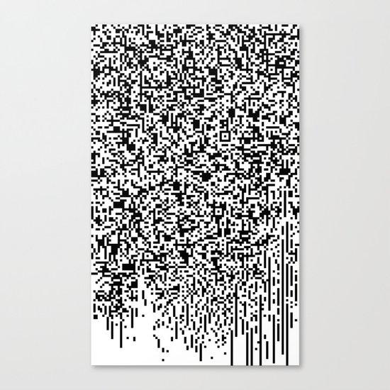 QR-antine V 0.1 Canvas Print