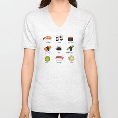 Sushi Days Unisex V-Neck
