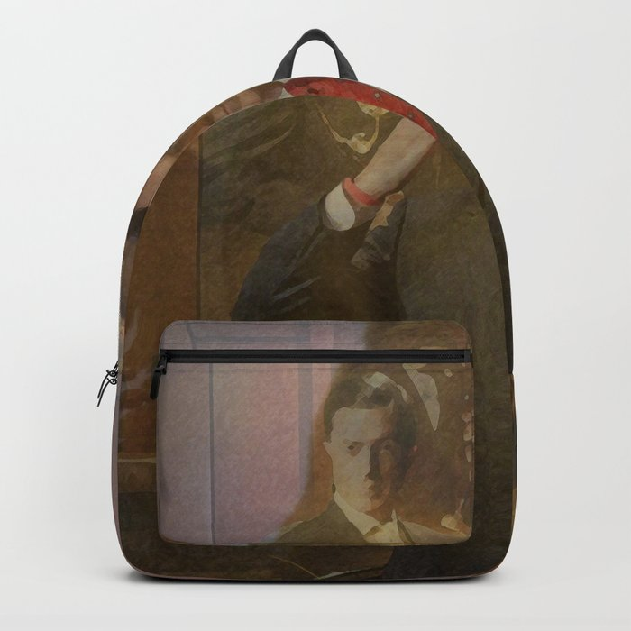 d92a78f858 Steven ColBear Backpack by 84rooms