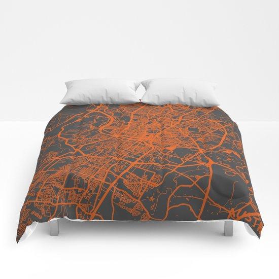 Austin map Comforters