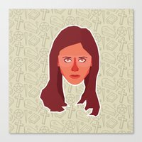 buffy Canvas Prints featuring Buffy Summers - Buffy the Vampire Slayer by Kuki