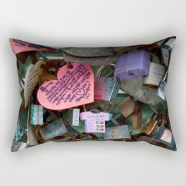 Love Locks No. 2 Rectangular Pillow