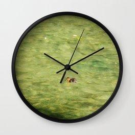 Little Swimmer Wall Clock