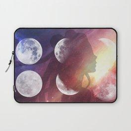 Moon Goddess Selene Laptop Sleeve