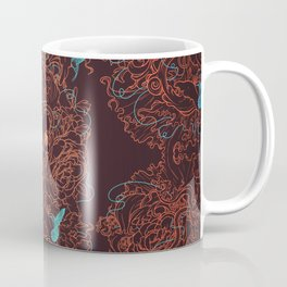 lost in chaos red Coffee Mug