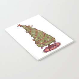 Cat Christmas Graphic Notebook