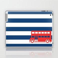 British Double Decker Bus Laptop & iPad Skin