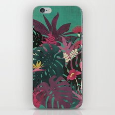 Tropical Tendencies iPhone & iPod Skin