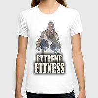 fitness T-shirts featuring EXTREME FITNESS  by Robleedesigns